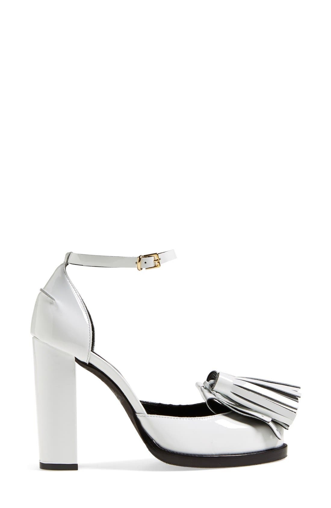 Alternate Image 4  - MSGM Ankle Strap Pump (Women)