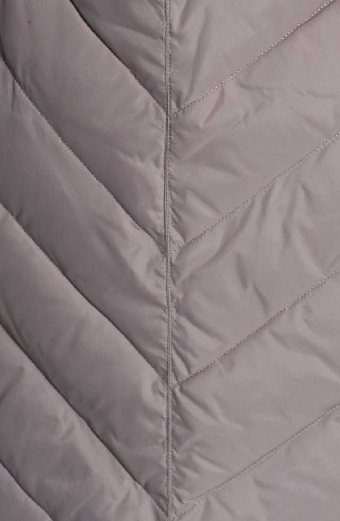 Alternate Image 3  - MICHAEL Michael Kors Fur Trim Down & Feather Coat (Online Only) (Regular & Petite)