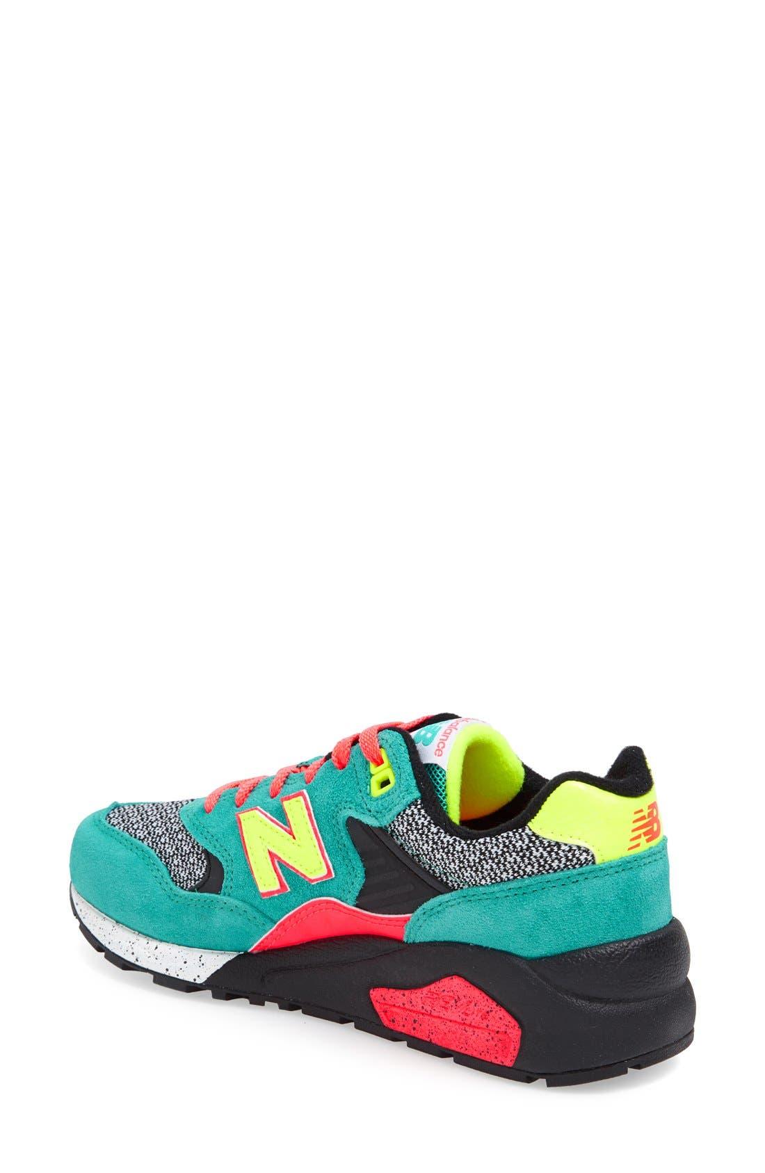 Alternate Image 2  - New Balance '580' Sneaker (Women)