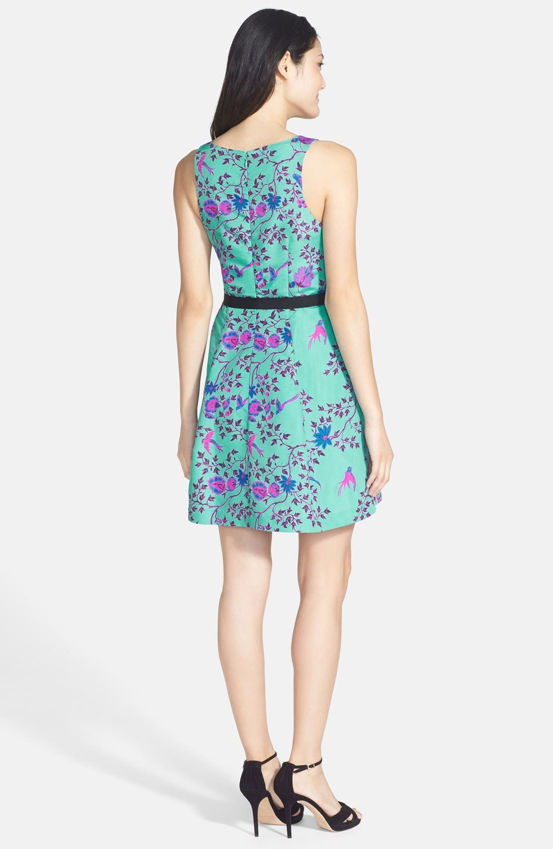 Alternate Image 2  - Plenty by Tracy Reese Print Faille Fit & Flare Dress