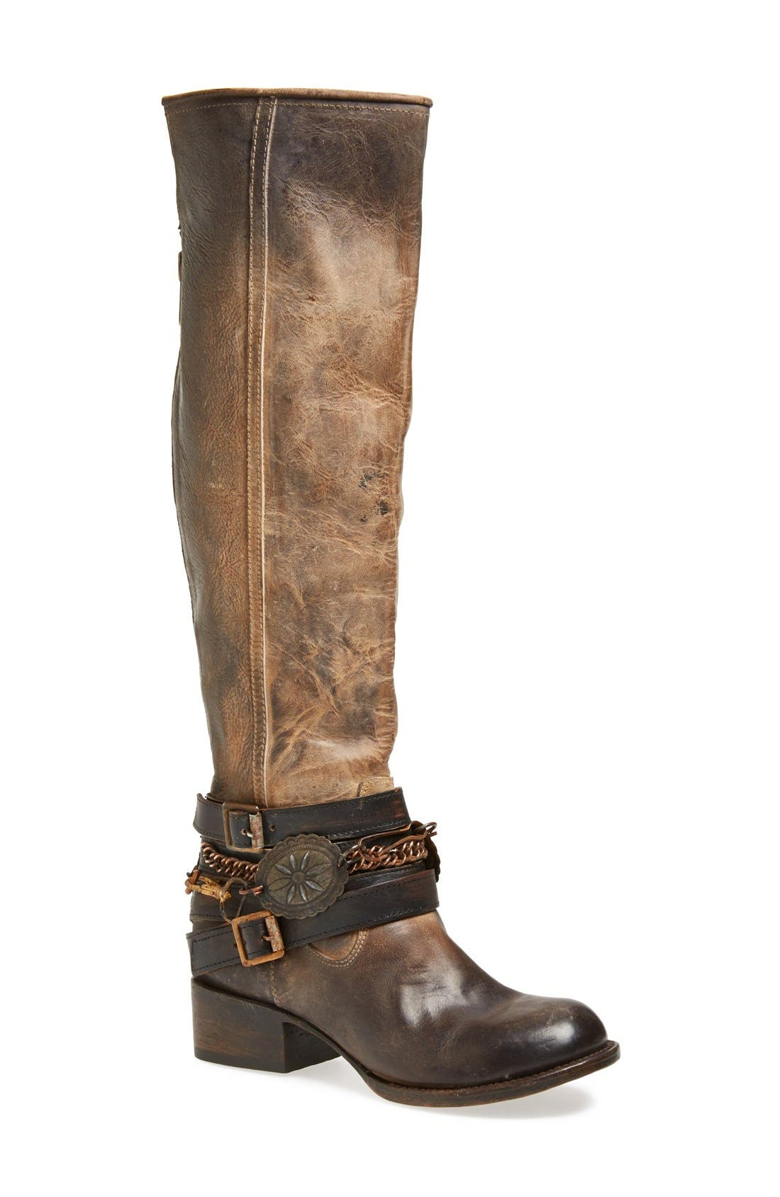 Alternate Image 1 Selected - Freebird by Steven Western Leather Boot (Women)