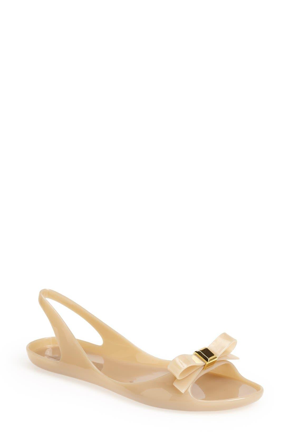 Alternate Image 1 Selected - kate spade new york 'ode' flat sandal