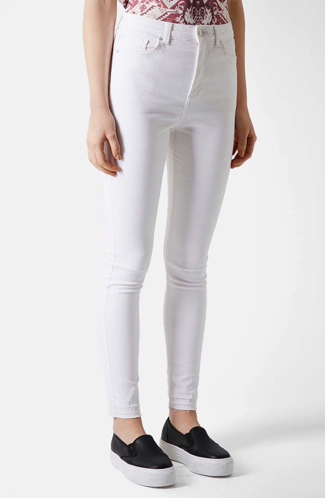 Alternate Image 1 Selected - Topshop Moto 'Jamie' Skinny Jeans (Regular & Short)