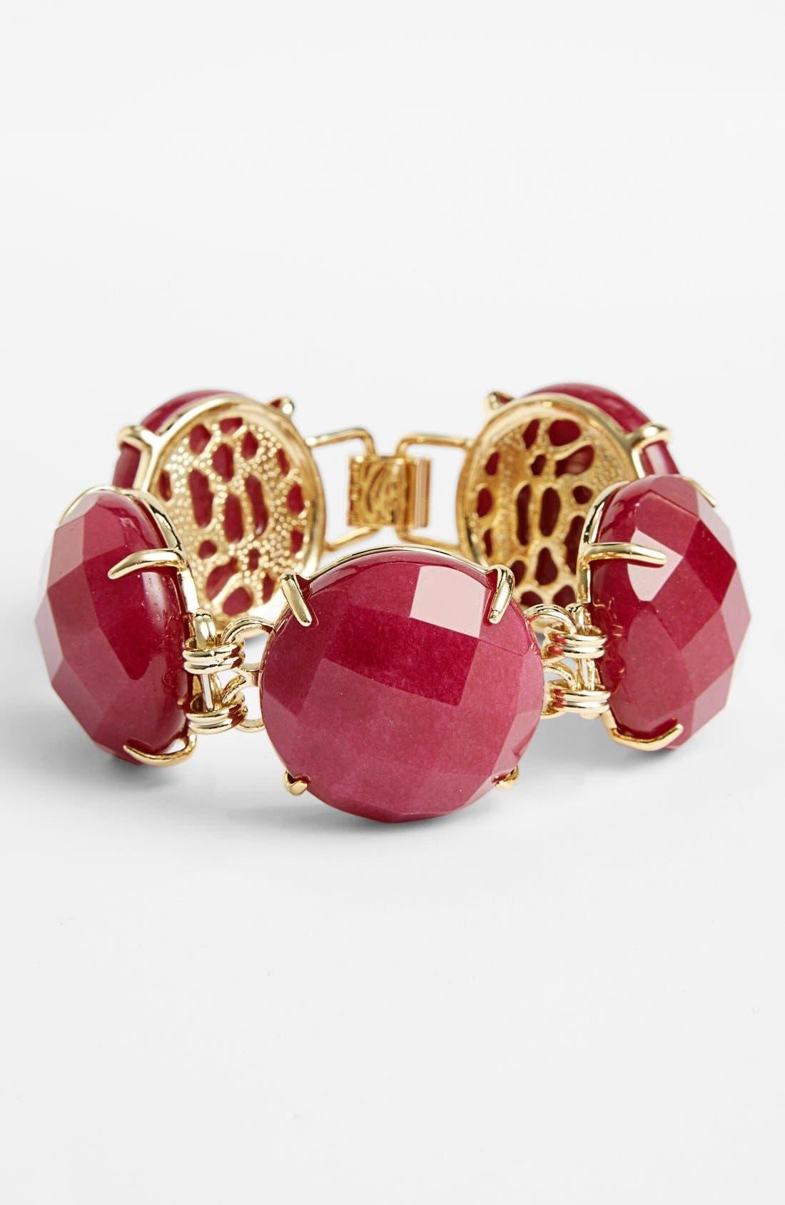 Alternate Image 1 Selected - Kendra Scott 'Cassie' Stone Line Bracelet