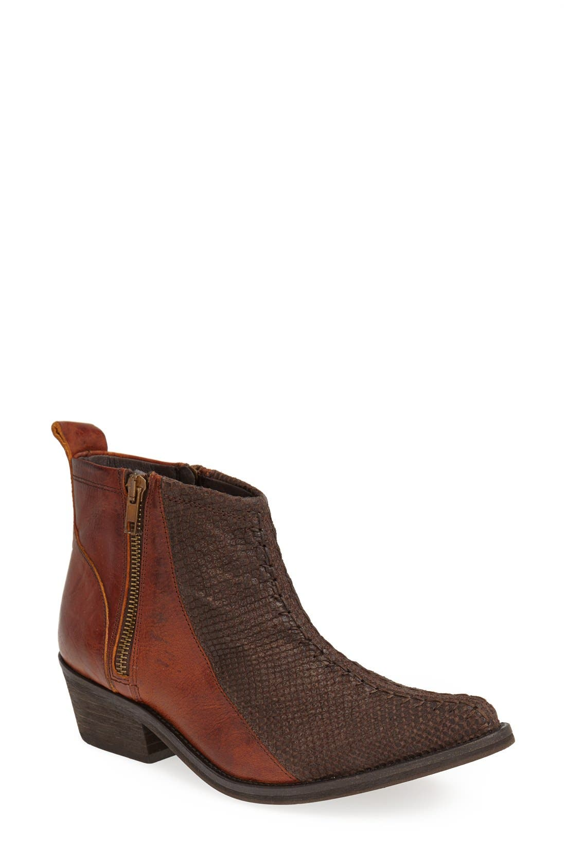 Main Image - Free People 'Flying Ranch' Pointy Toe Bootie (Women)