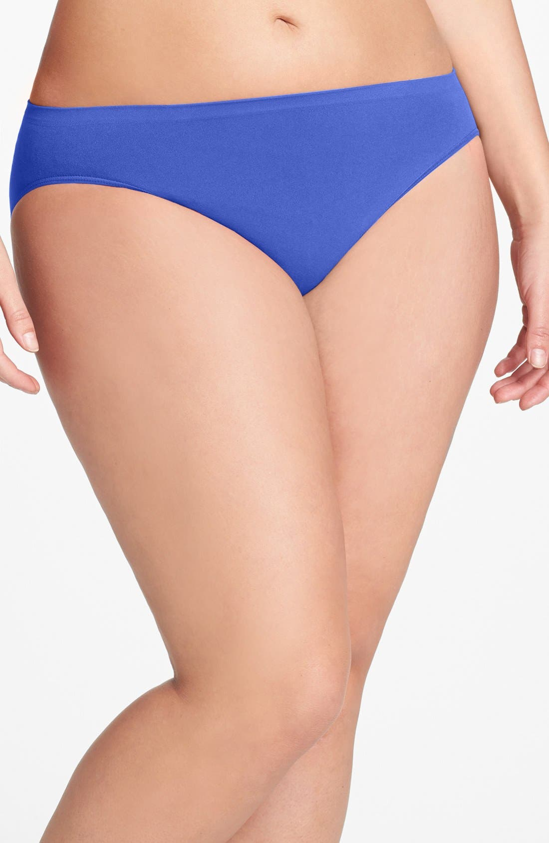 Alternate Image 1 Selected - Shimera Seamless High Cut Panties (Plus Size) (3 for $33)