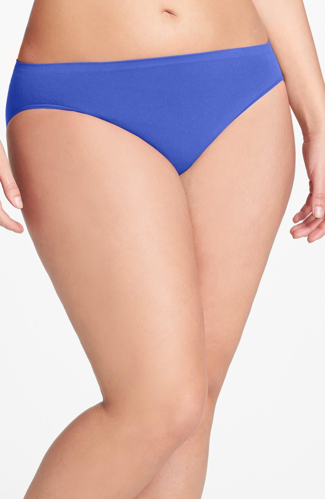 Main Image - Shimera Seamless High Cut Panties (Plus Size) (3 for $33)