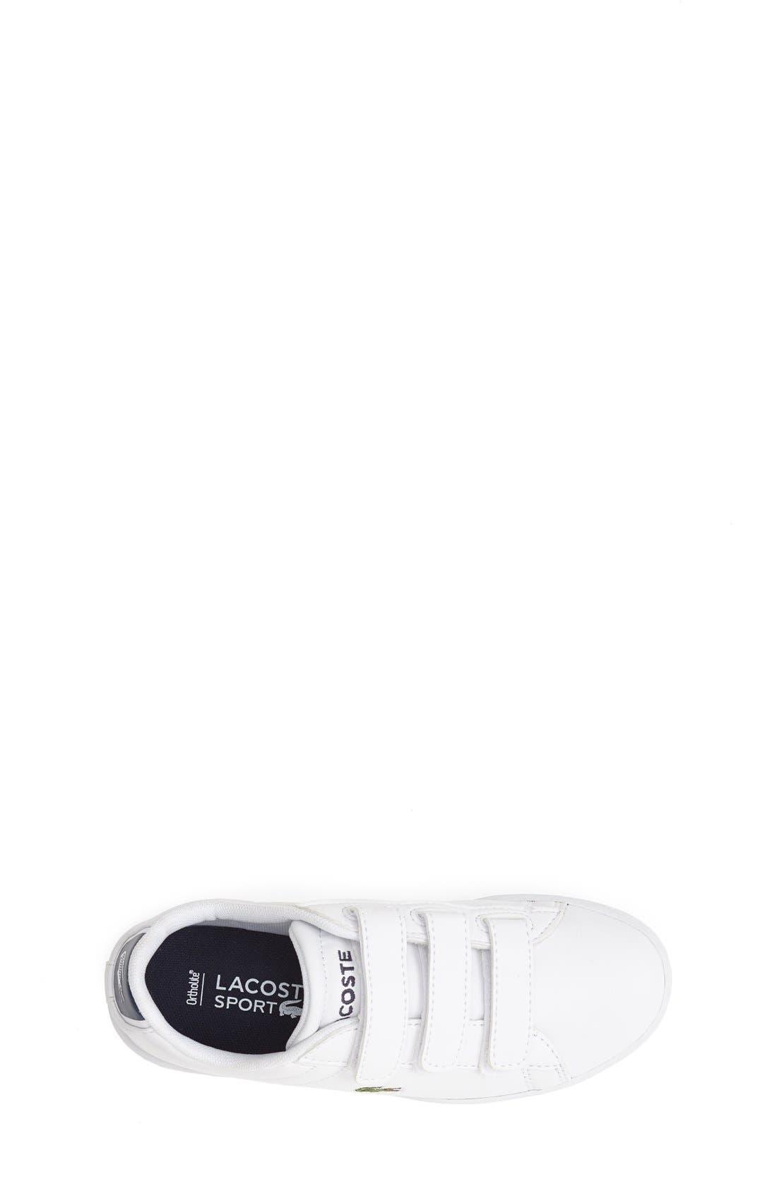 Alternate Image 3  - Lacoste 'Carnaby' Sneaker (Toddler & Little Kid)