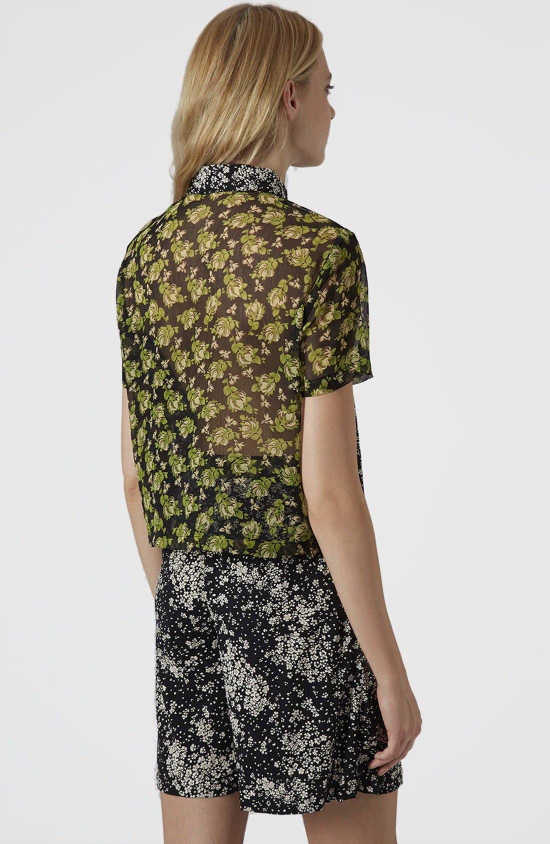 Alternate Image 2  - Topshop Reclaim To Wear Mix Print Shirt