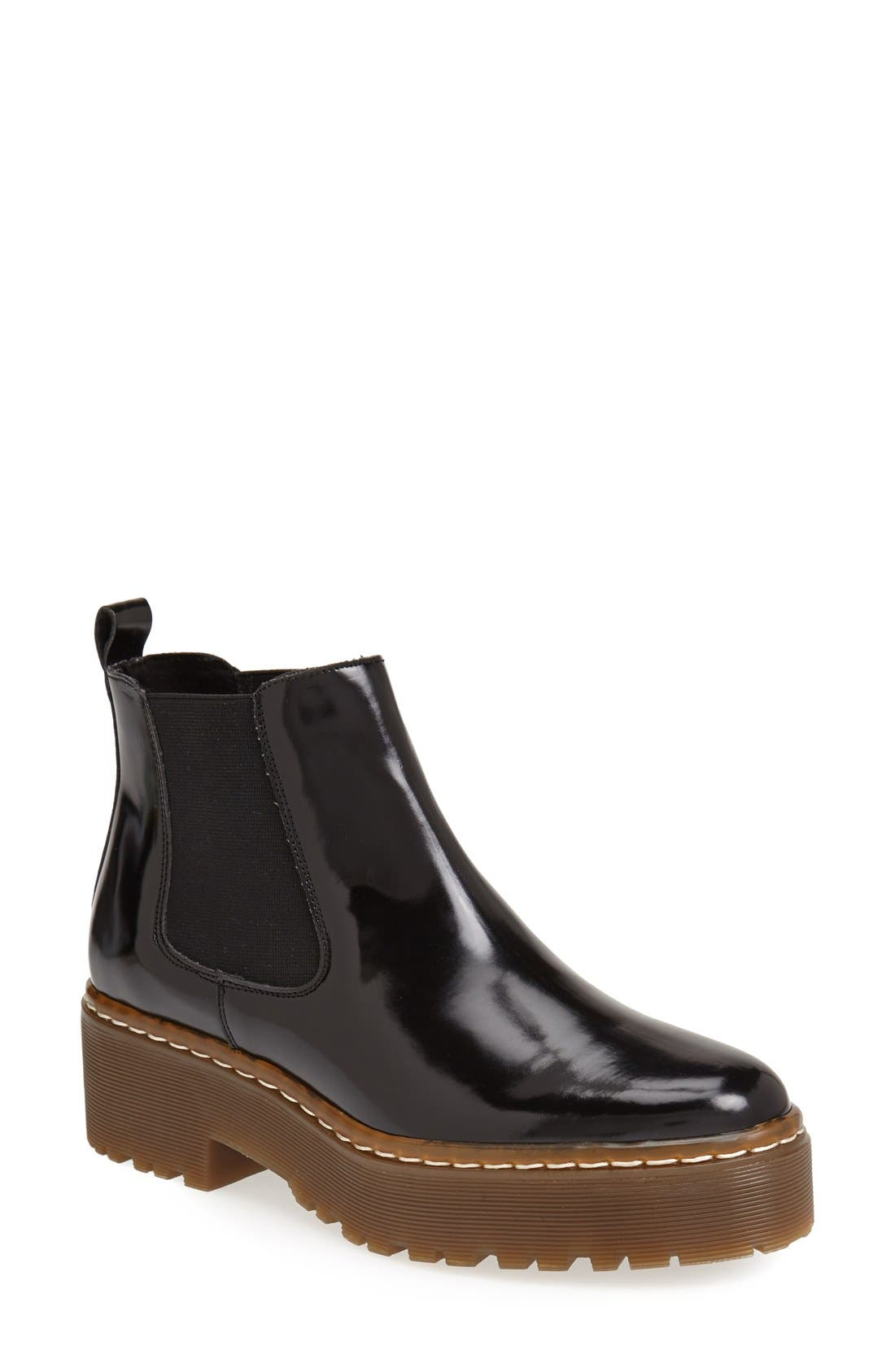 Alternate Image 1 Selected - Topshop 'Absolutely' Chelsea Boots (Women)