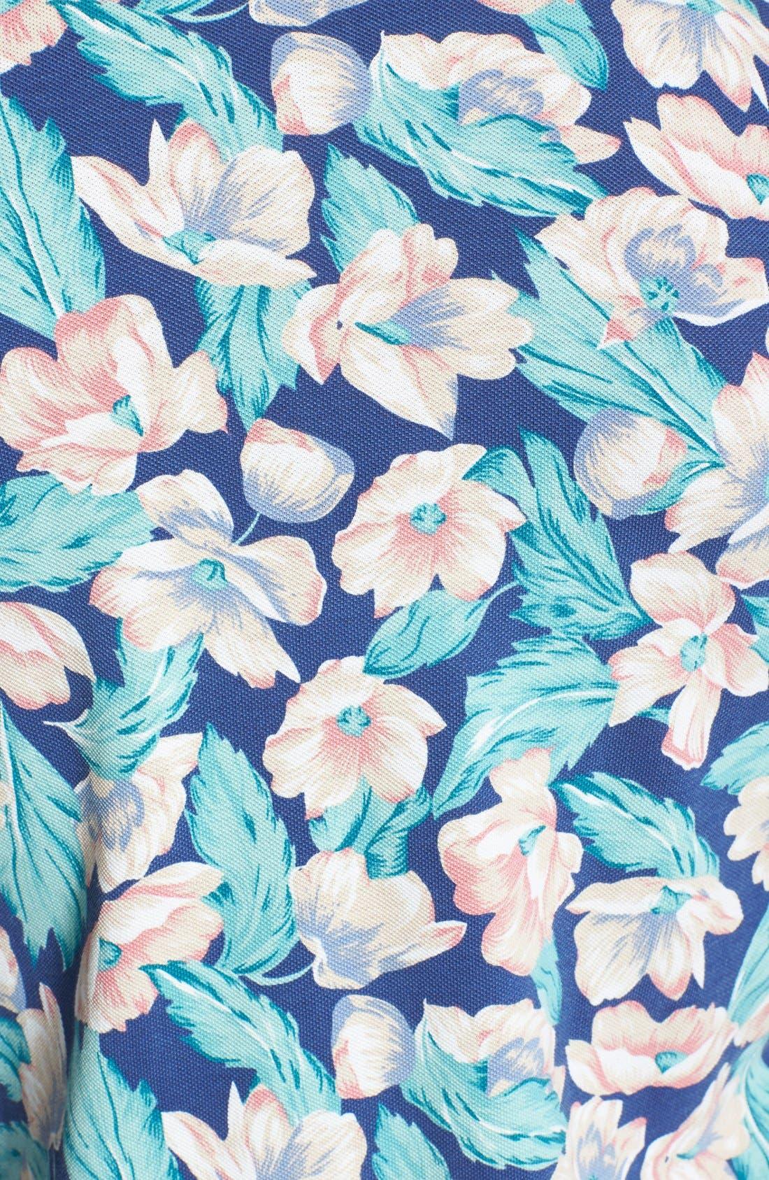 Alternate Image 3  - Gant 'P.N. Floral' Print Piqué Polo