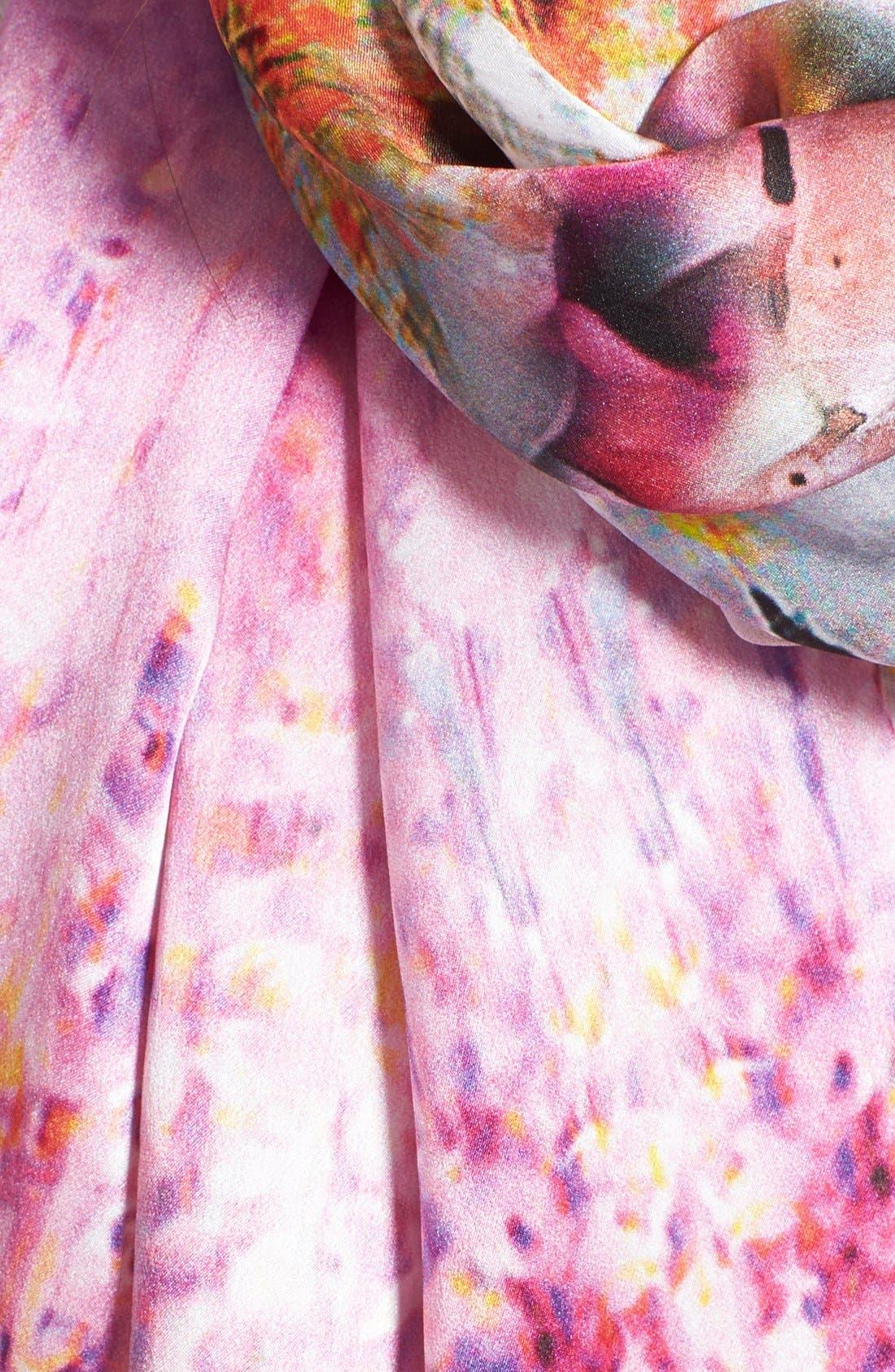 Alternate Image 3  - Ted Baker London 'Falling Blossom' Silk Scarf