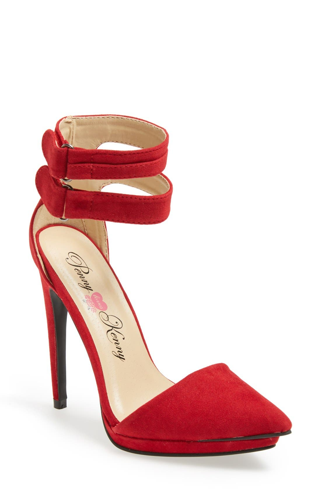 Alternate Image 1 Selected - Penny Loves Kenny 'Narly' Pointy Toe Pump (Women)