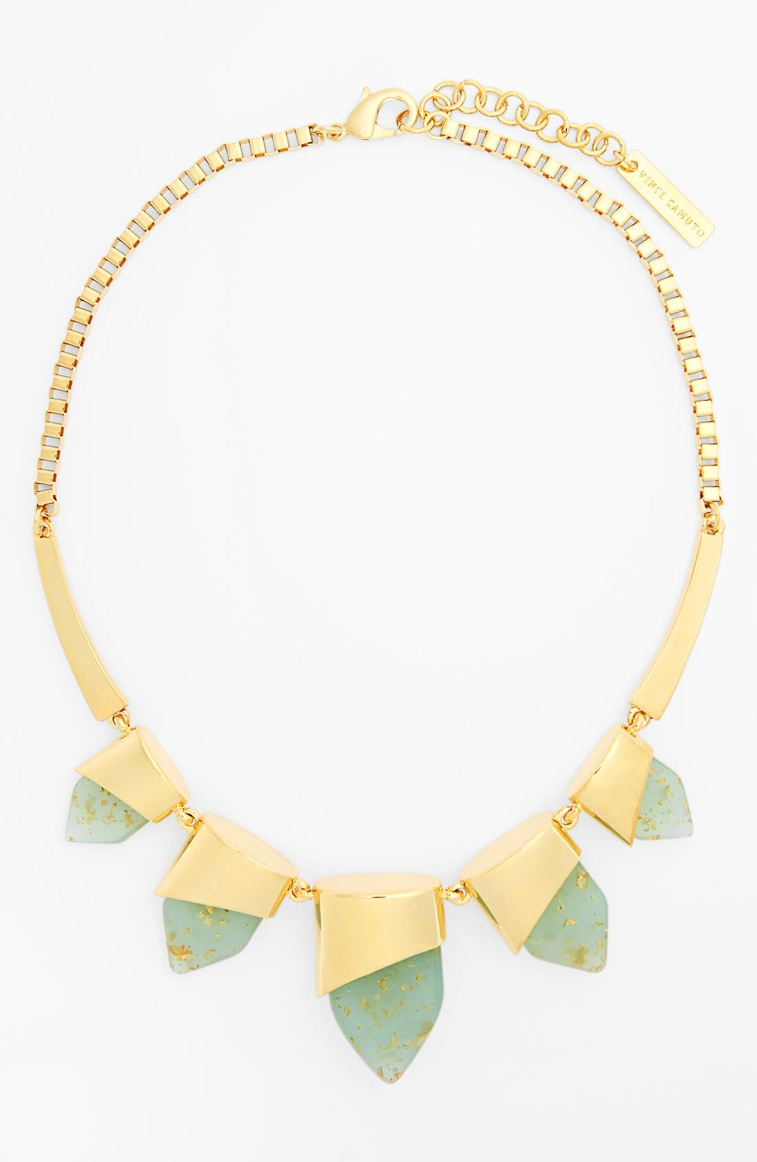 Alternate Image 2  - Vince Camuto 'Smooth Moves' Frontal Necklace