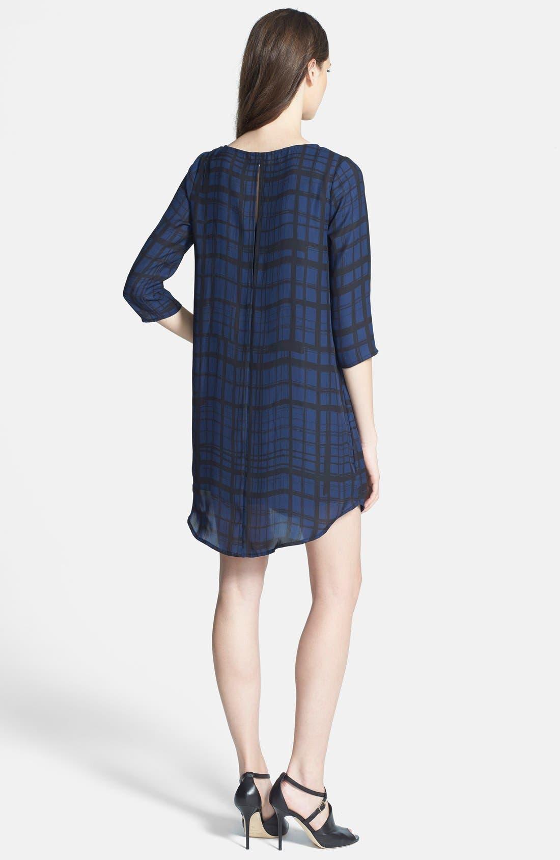 Alternate Image 2  - BB Dakota 'Musetta' Print Shift Dress