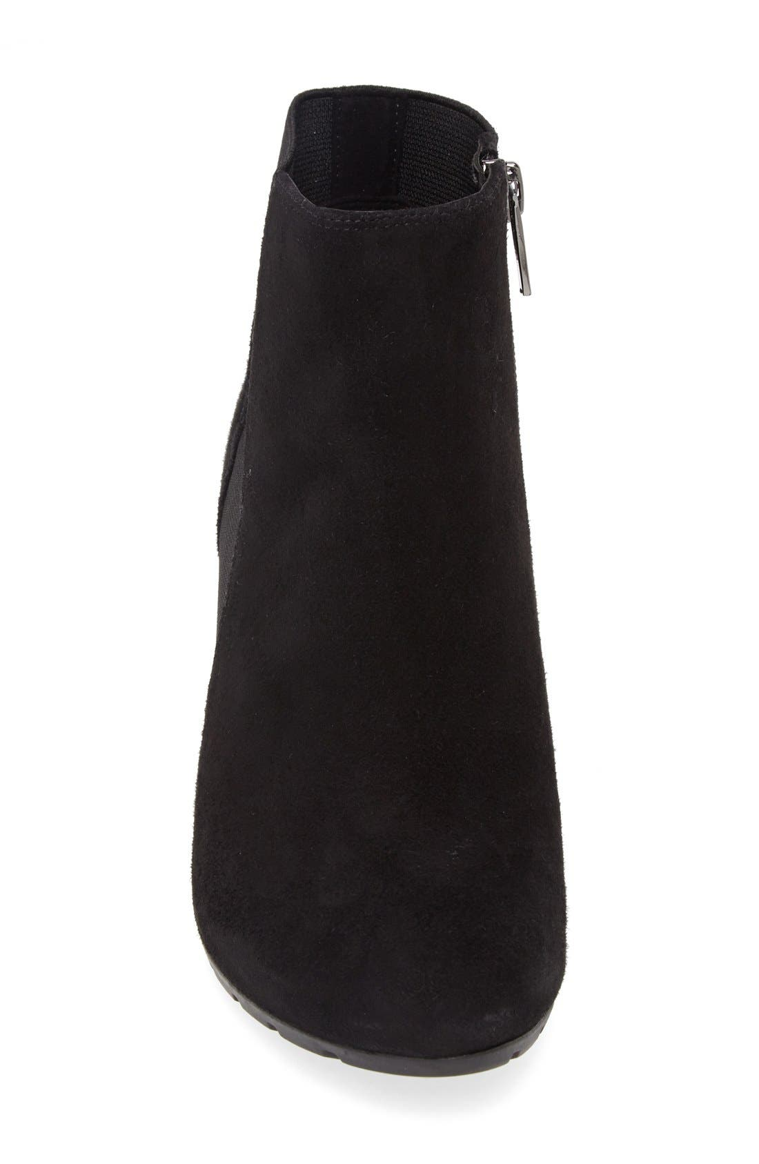 Alternate Image 3  - Clarks® 'Rosepoint Bell' Suede Wedge Boot (Women)