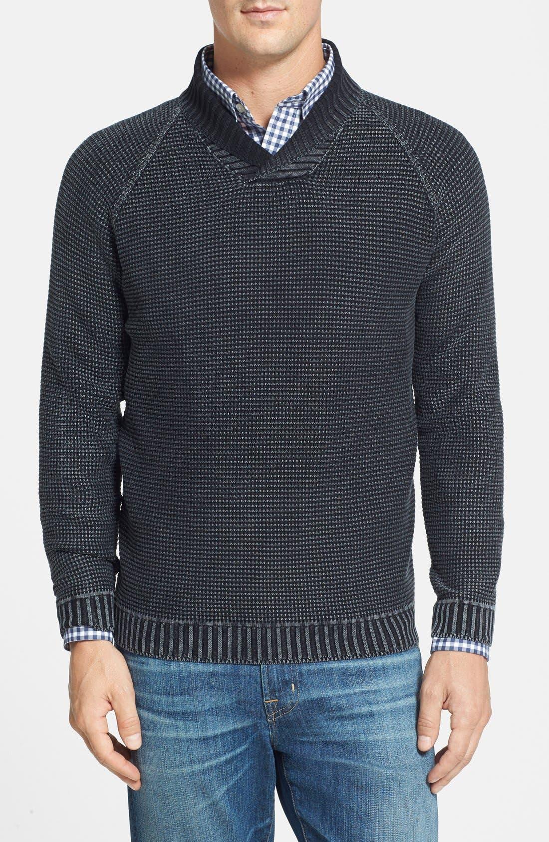 Alternate Image 1 Selected - Tommy Bahama '1 Island' Shawl Collar Sweater