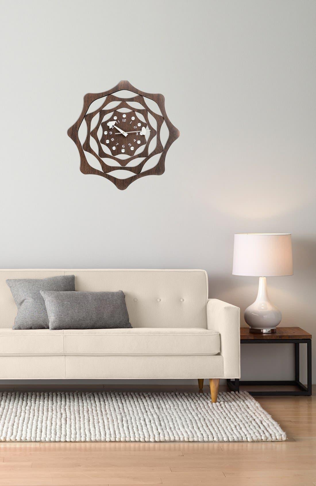 Alternate Image 2  - World Friendly World 'Webb' Wall Clock
