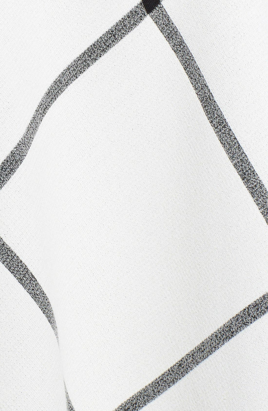 Alternate Image 3  - St. John Collection Milano Plaid Knit Circular Wrap
