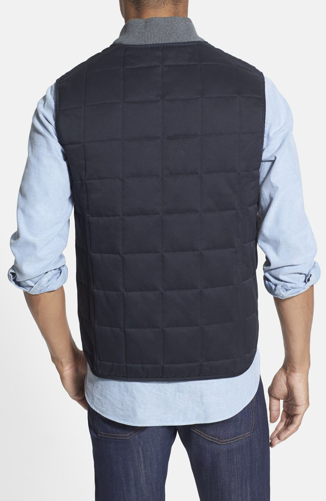 Alternate Image 2  - Wallin & Bros. Trim Fit Quilted Vest