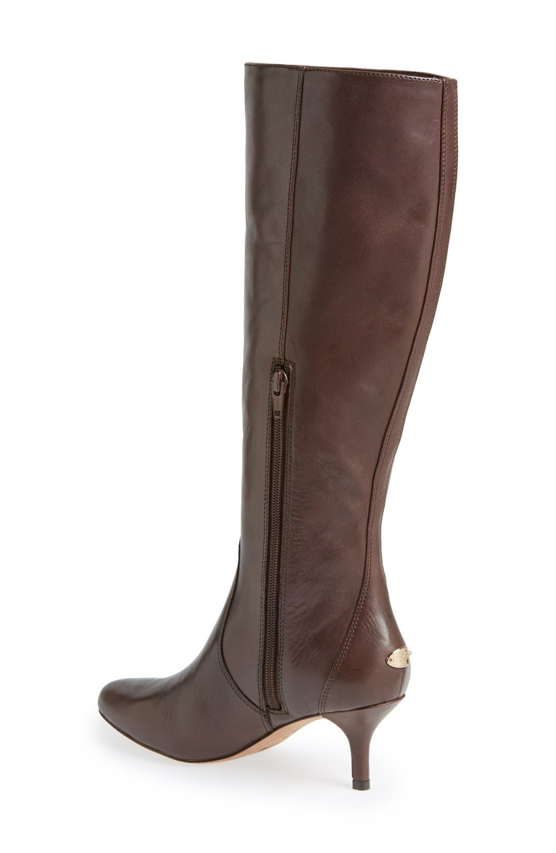 Alternate Image 2  - COACH 'Foxy' Knee High Boot (Women)