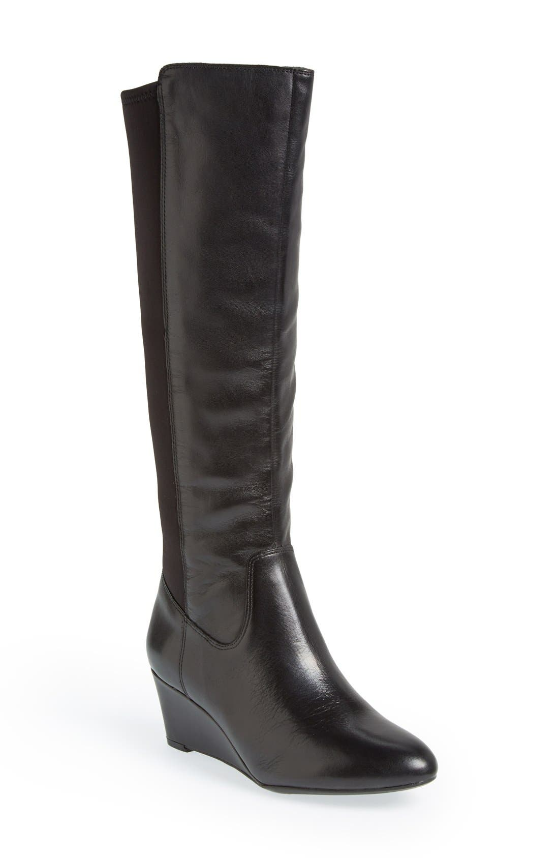 Alternate Image 1 Selected - Naturalizer 'Quinlee' Knee High Boot (Women)