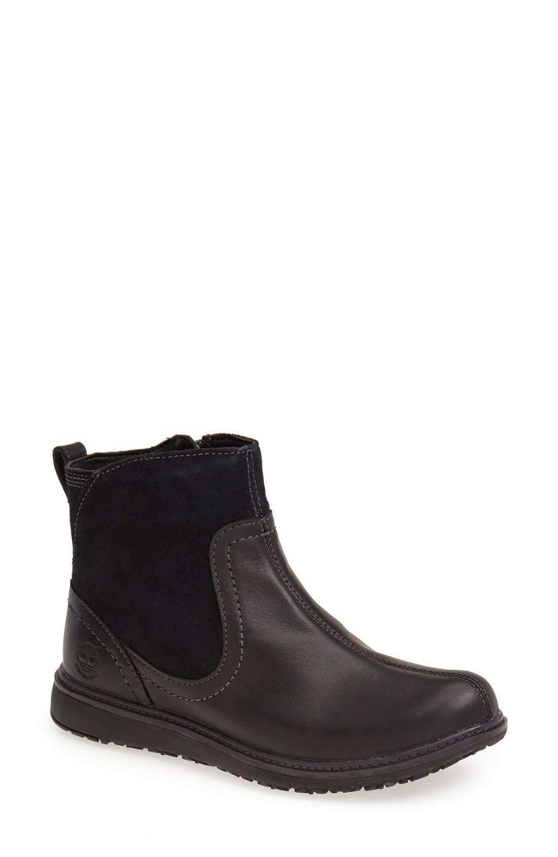 Alternate Image 1 Selected - Timberland Earthkeepers® 'Ashdale' Waterproof Ankle Boot (Women)