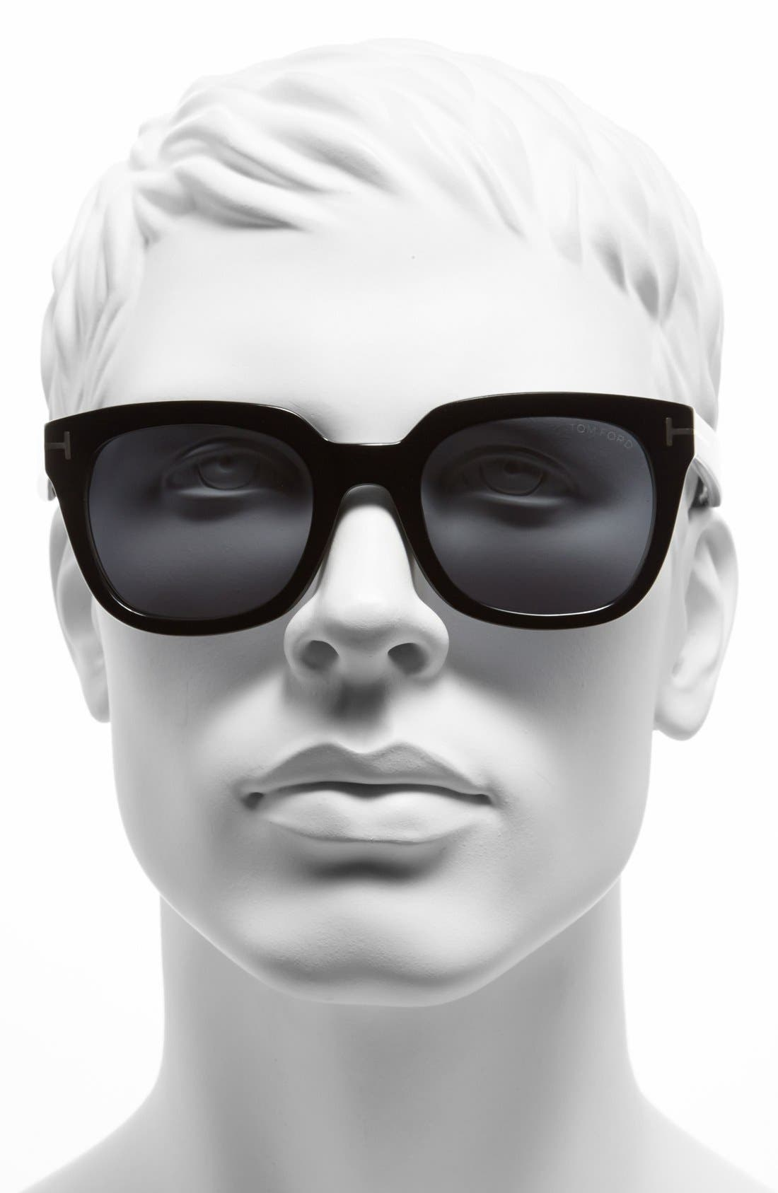 Alternate Image 2  - Tom Ford 'Campbell' 53mm Sunglasses