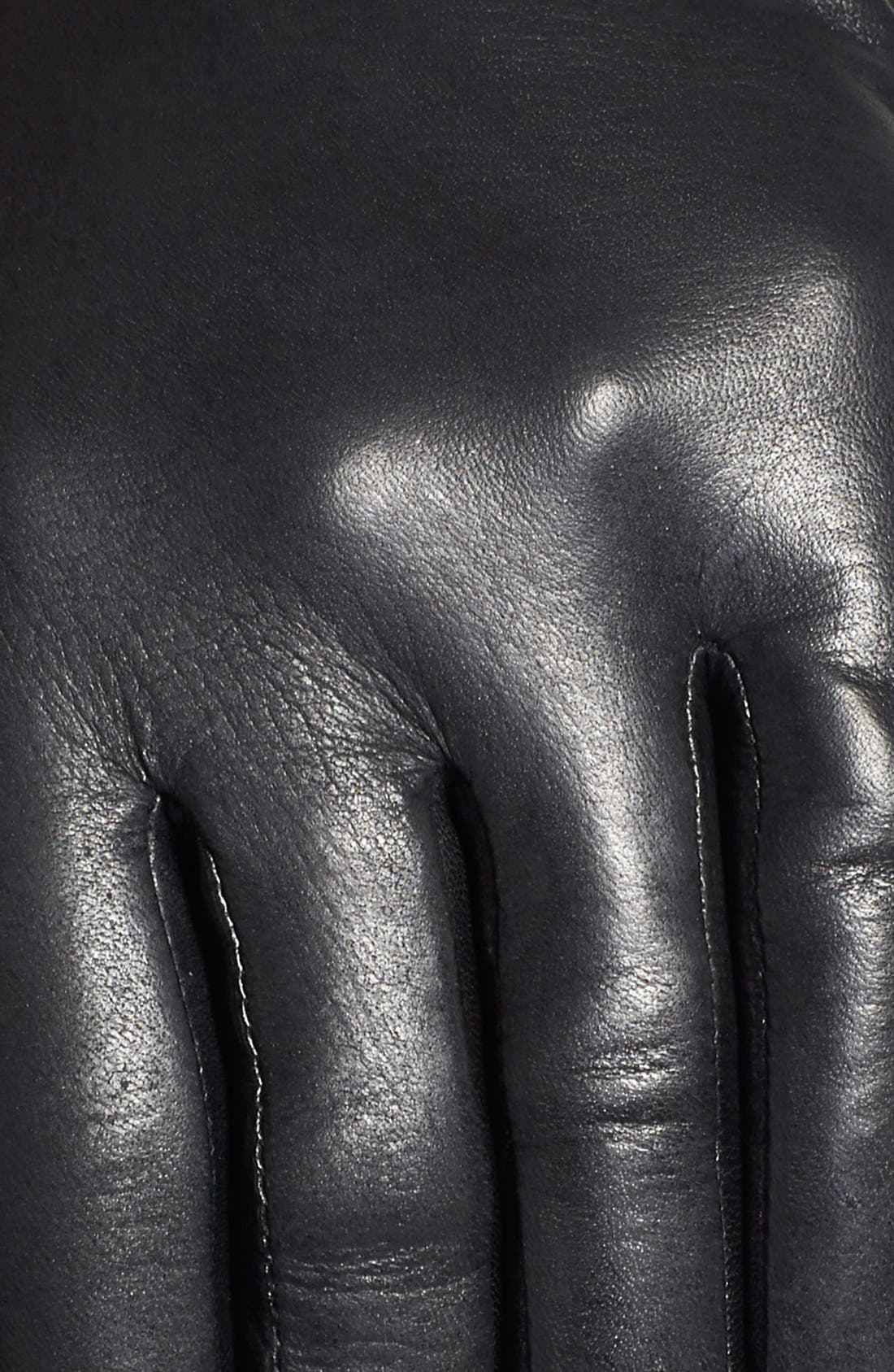 Alternate Image 3  - Fownes Brothers Topstitch Detail Leather Gloves