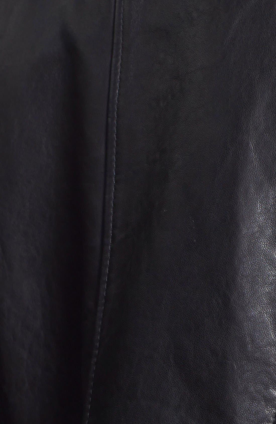 Alternate Image 3  - Treasure&Bond Leather Jacket