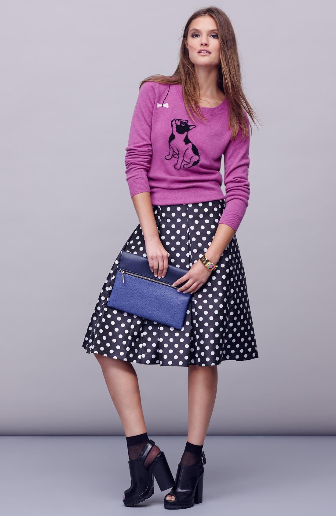 Alternate Image 5  - Halogen® Cashmere Crewneck Sweater (Regular & Petite)