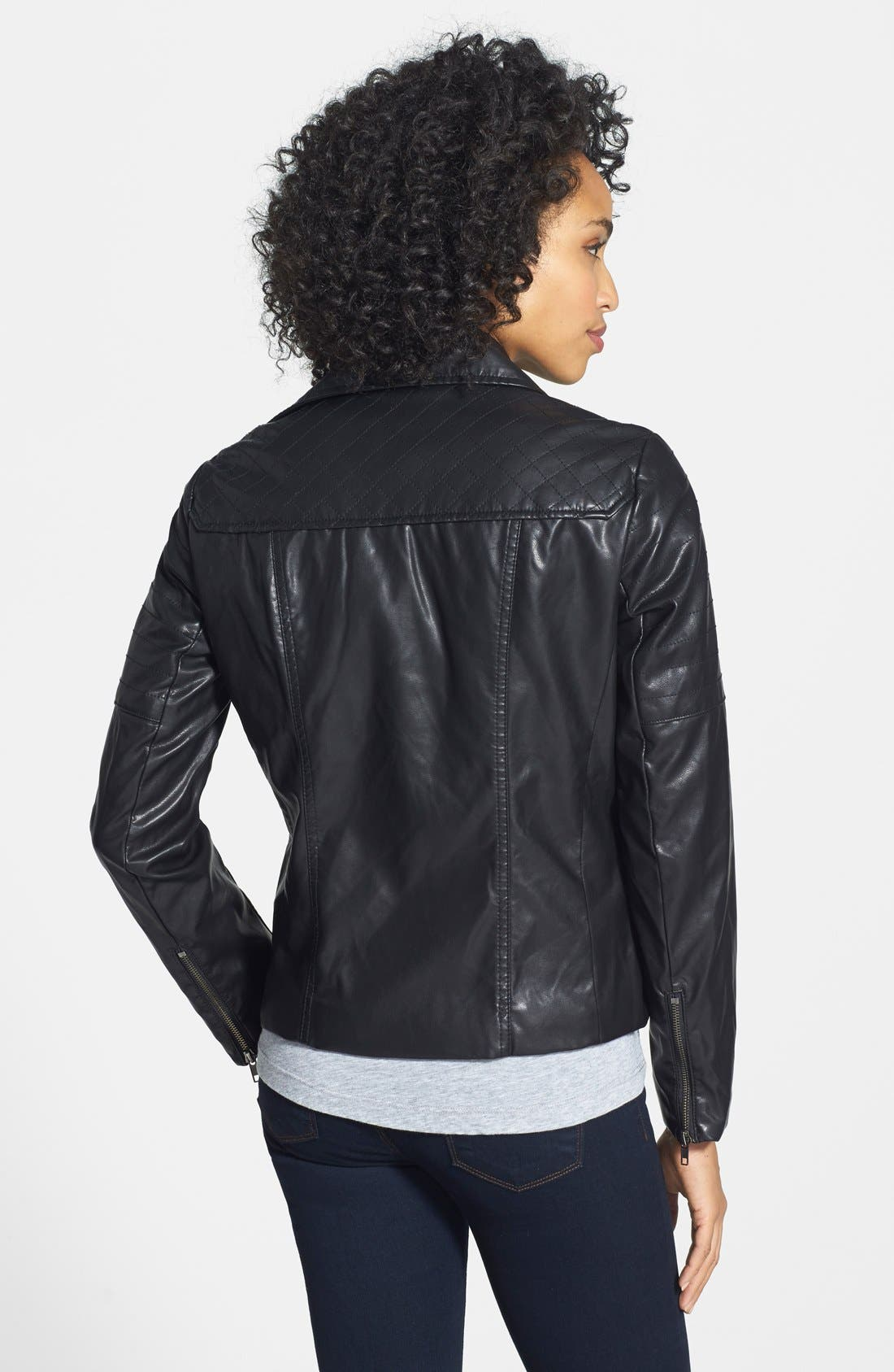 Alternate Image 2  - KUT from the Kloth 'Avery' Faux Leather Jacket