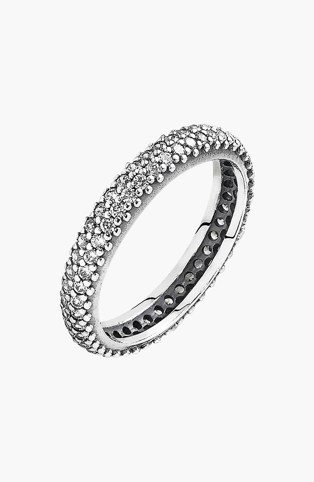 Alternate Image 1 Selected - PANDORA 'Inspiration Within Ring' Pavé Band Ring