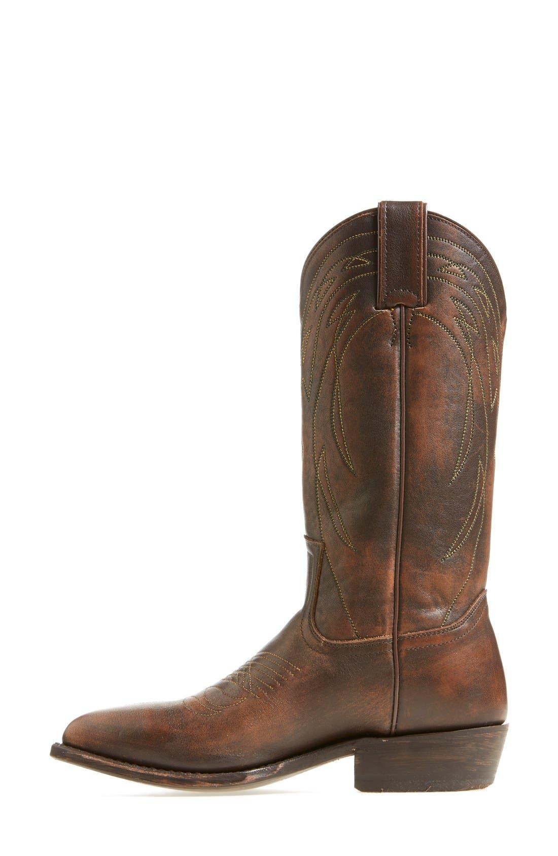 Alternate Image 3  - Frye 'Billy' Leather Western Boot (Women)