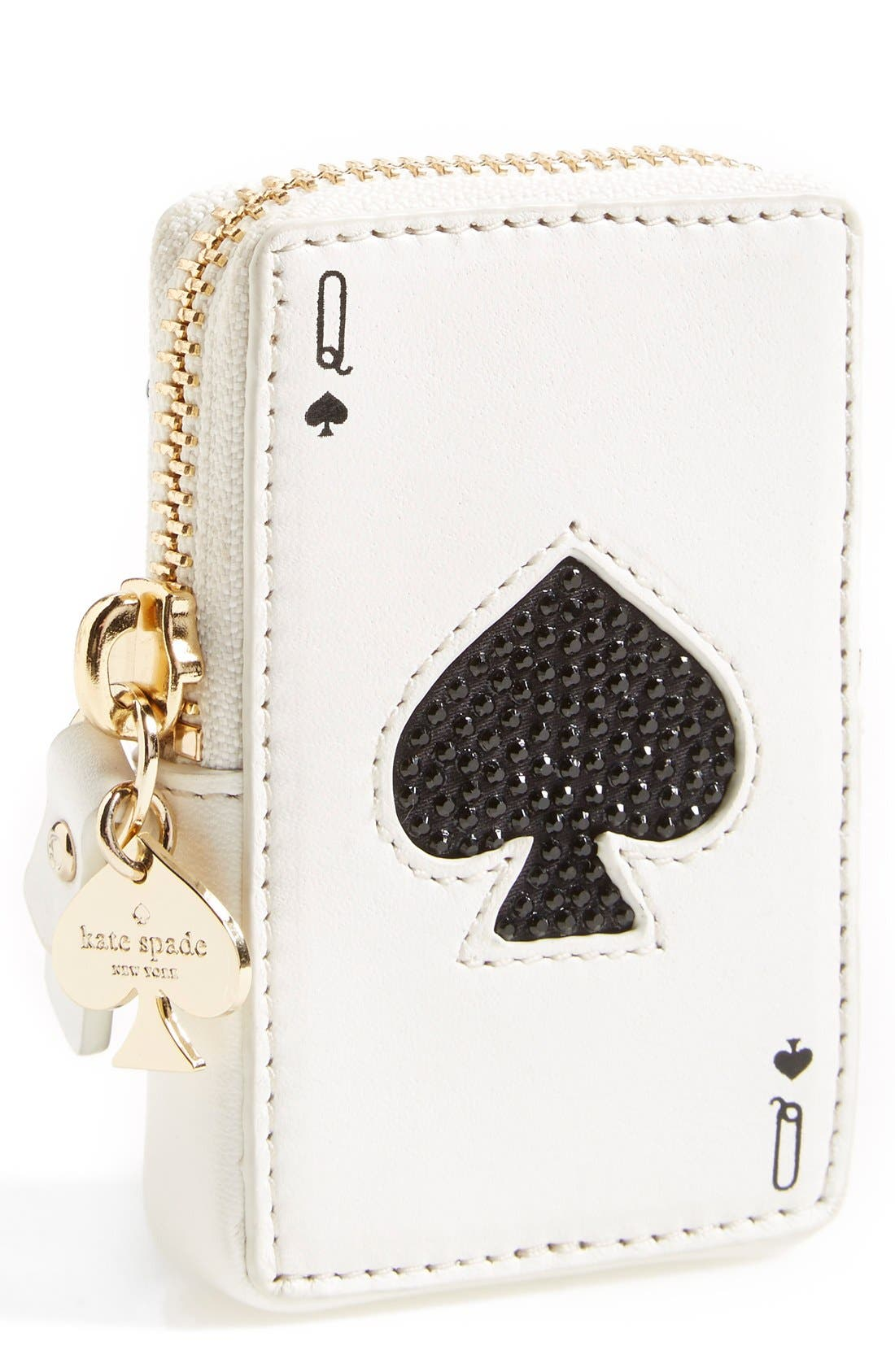 Main Image - kate spade 'place your bets' card coin purse