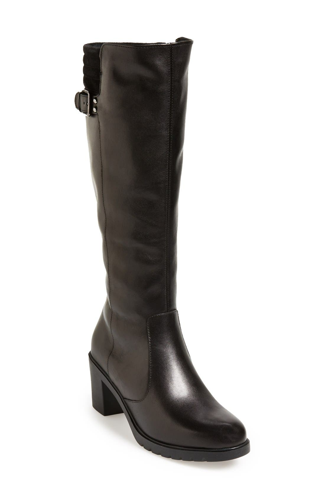 Alternate Image 1 Selected - The FLEXX 'One Trick Pony' Leather Tall Boot (Women)