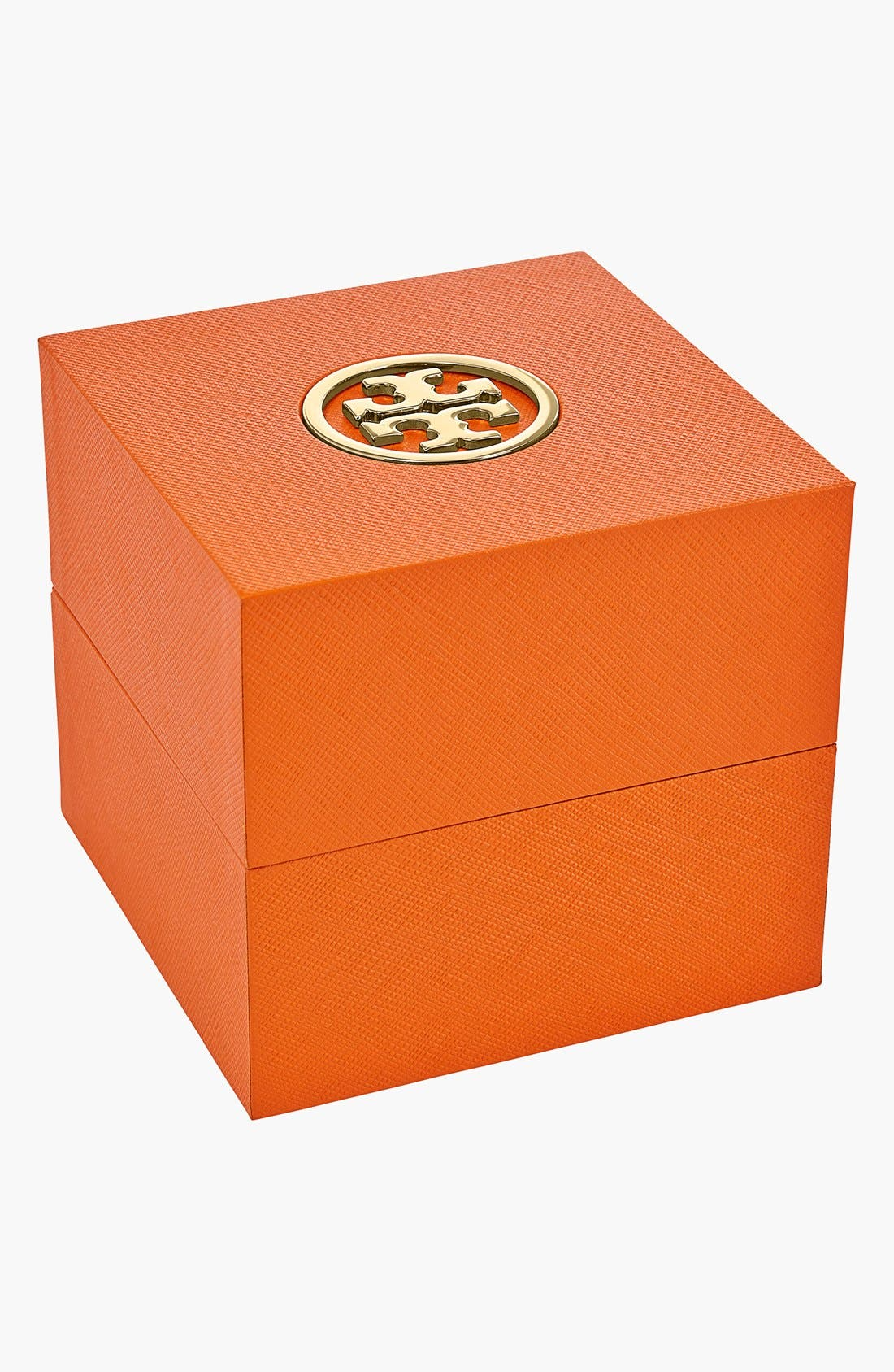 Alternate Image 5  - Tory Burch 'Izzie' Square Leather Strap Watch, 36mm