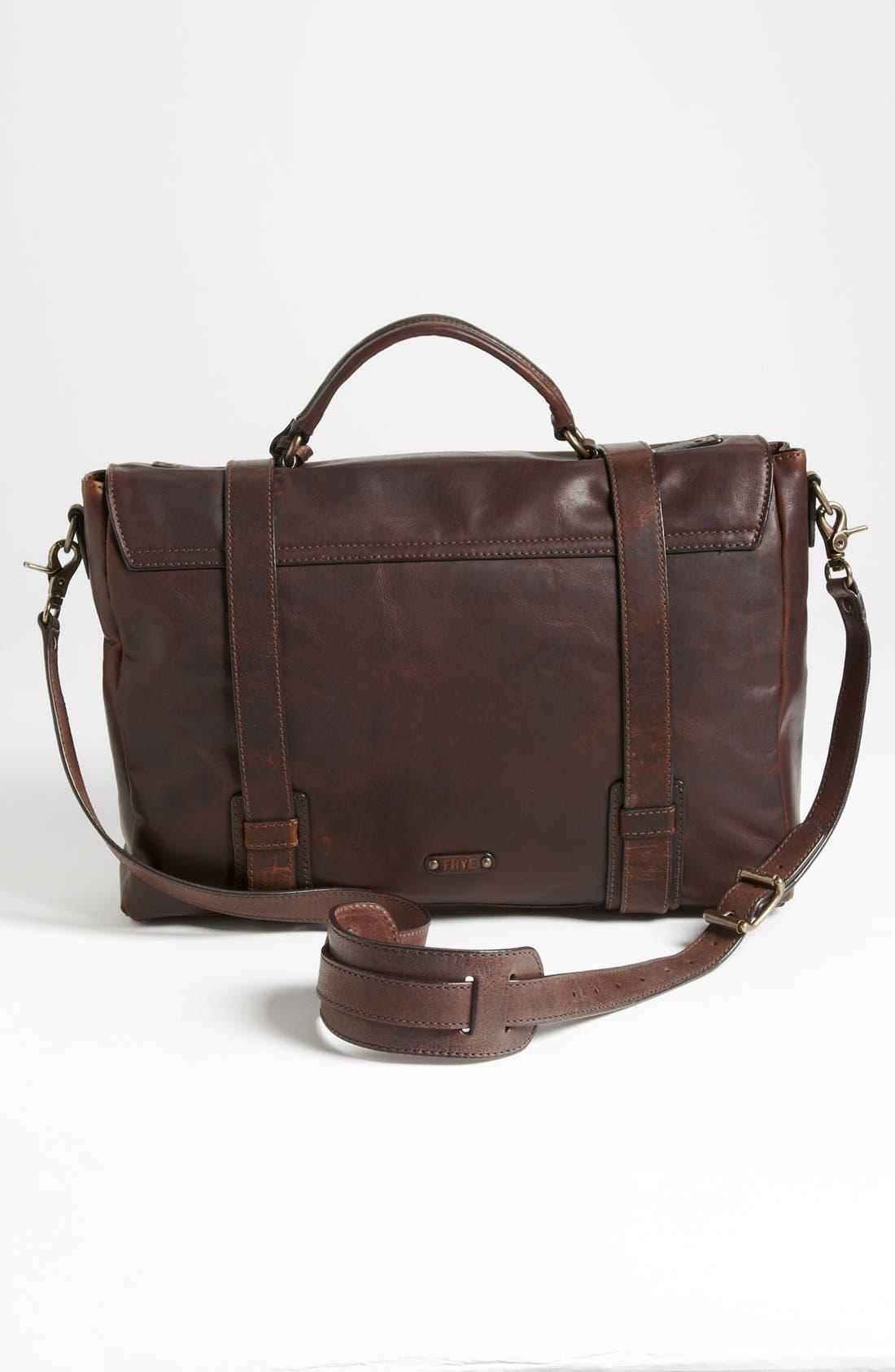 Alternate Image 3  - Frye 'Logan' Leather Flap Briefcase
