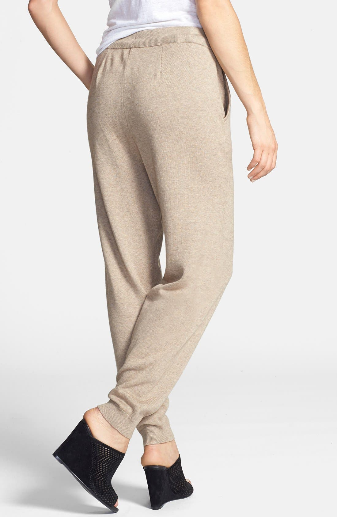 Alternate Image 2  - Eileen Fisher The Fisher Project Slouchy Cotton & Cashmere Knit Ankle Pants