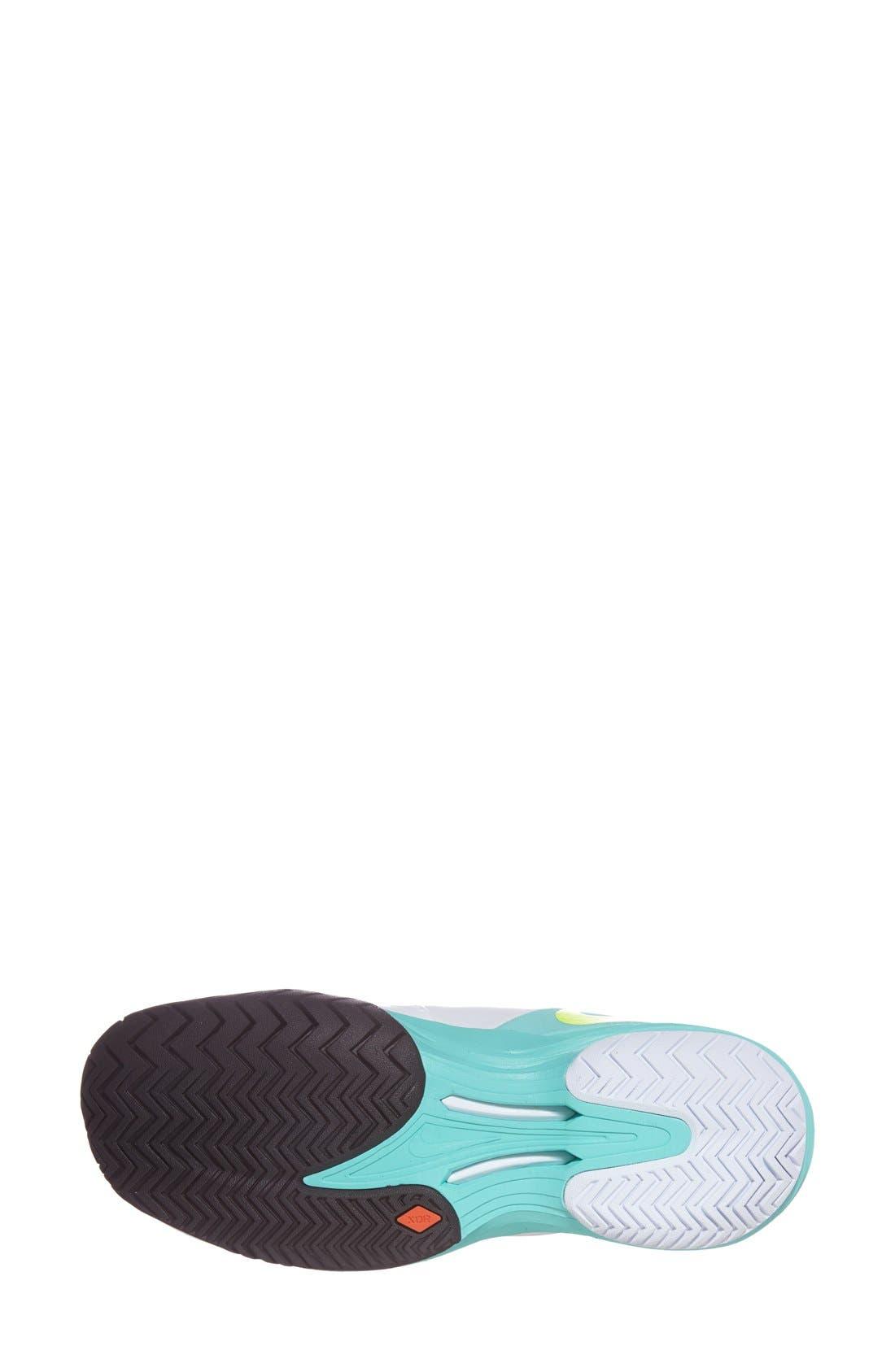 Alternate Image 4  - Nike 'Lunar Ballistec' Tennis Shoe (Women)