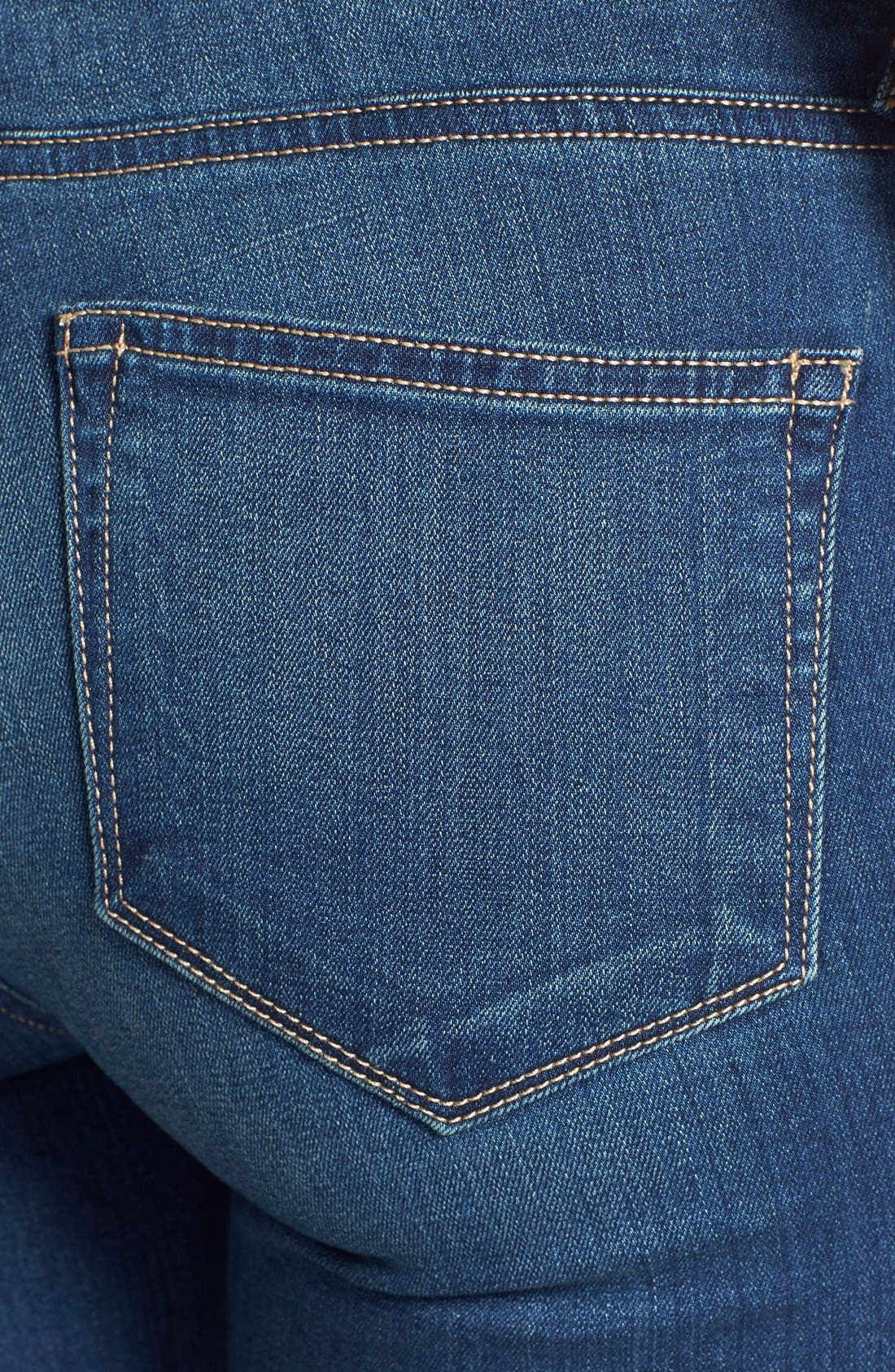 Alternate Image 3  - Paige Denim 'Indio' Zip Detail Ultra Skinny Jeans (Easton No Whiskers)