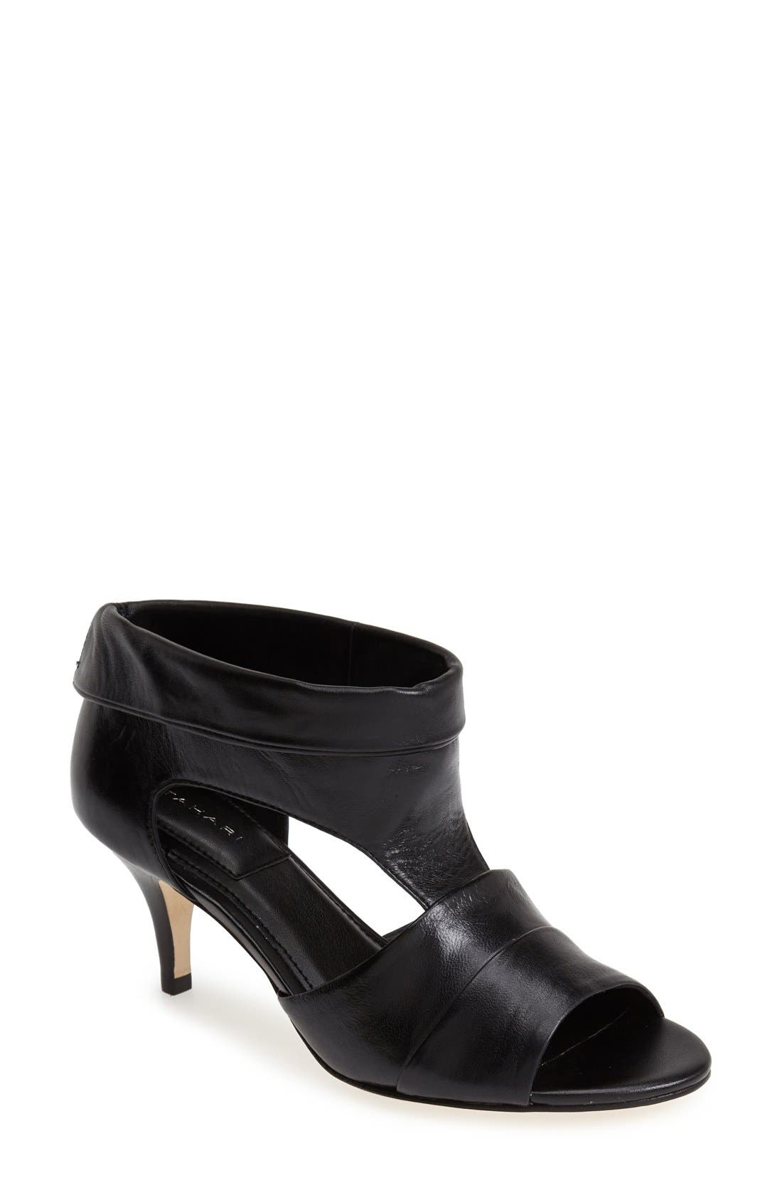Alternate Image 1 Selected - T Tahari 'Rumer' Cuff Leather Bootie (Women)