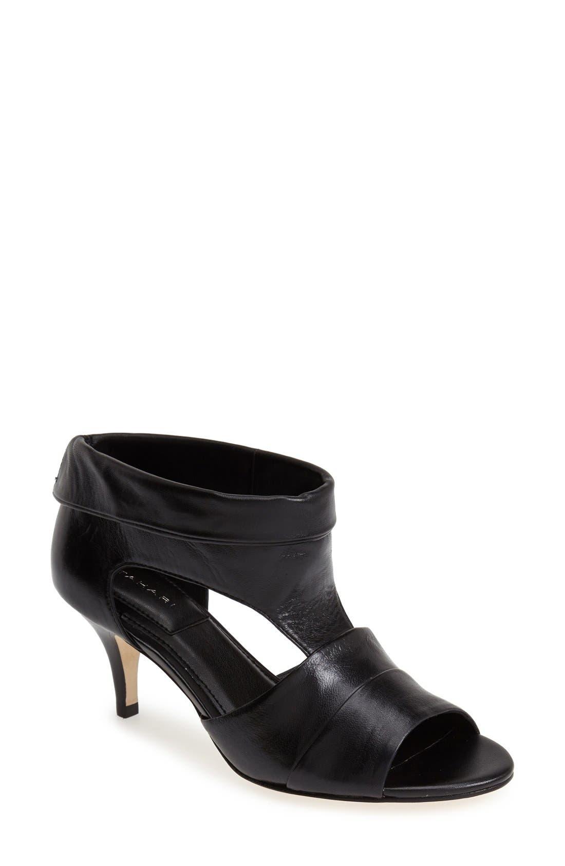 Main Image - T Tahari 'Rumer' Cuff Leather Bootie (Women)