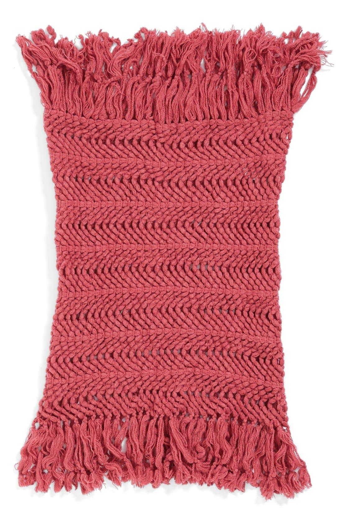 Alternate Image 2  - BP. Knotted Fringe Knit Infinity Scarf