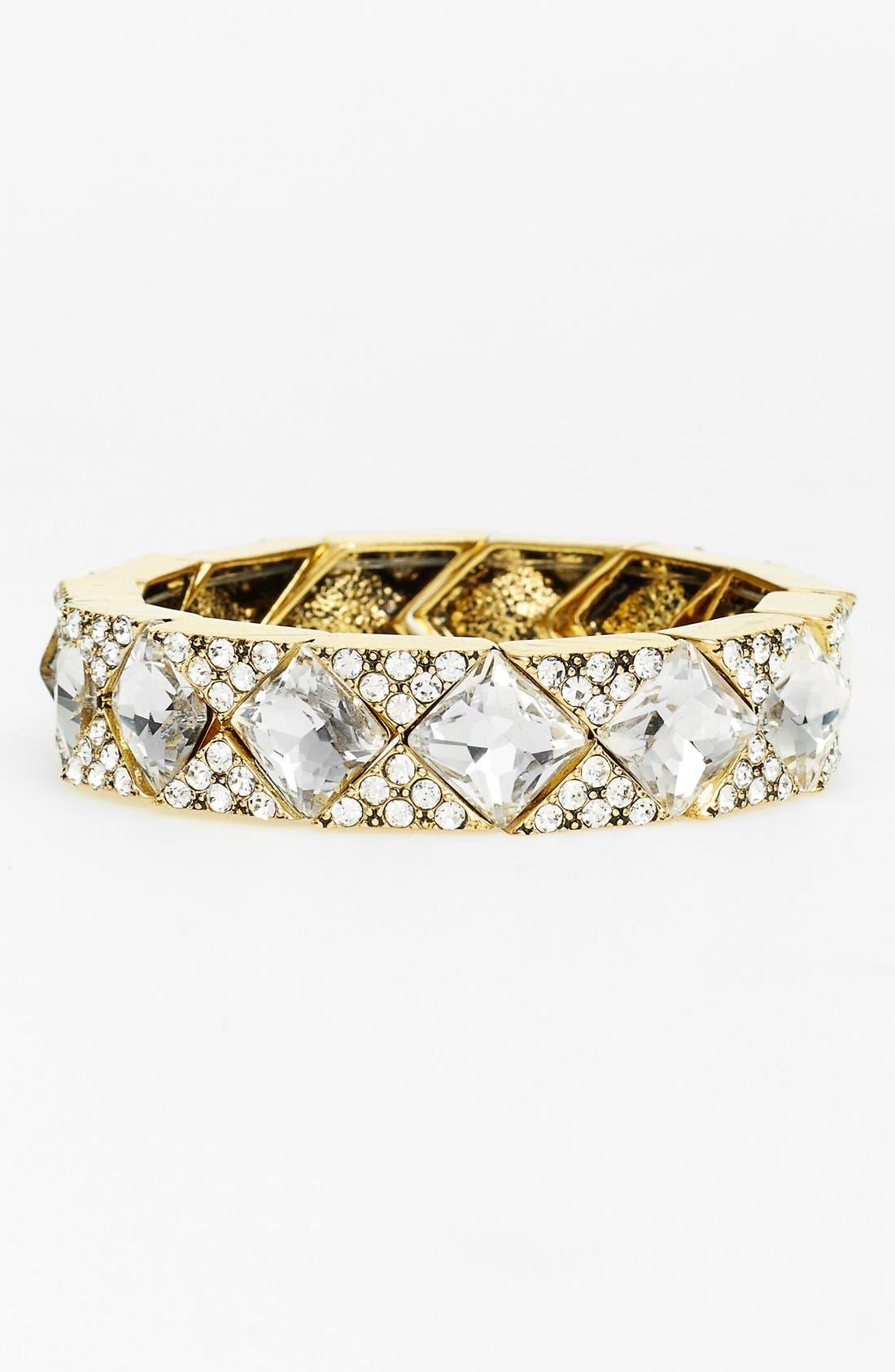 Main Image - Natasha Couture 'Jack' Crystal Stretch Bracelet