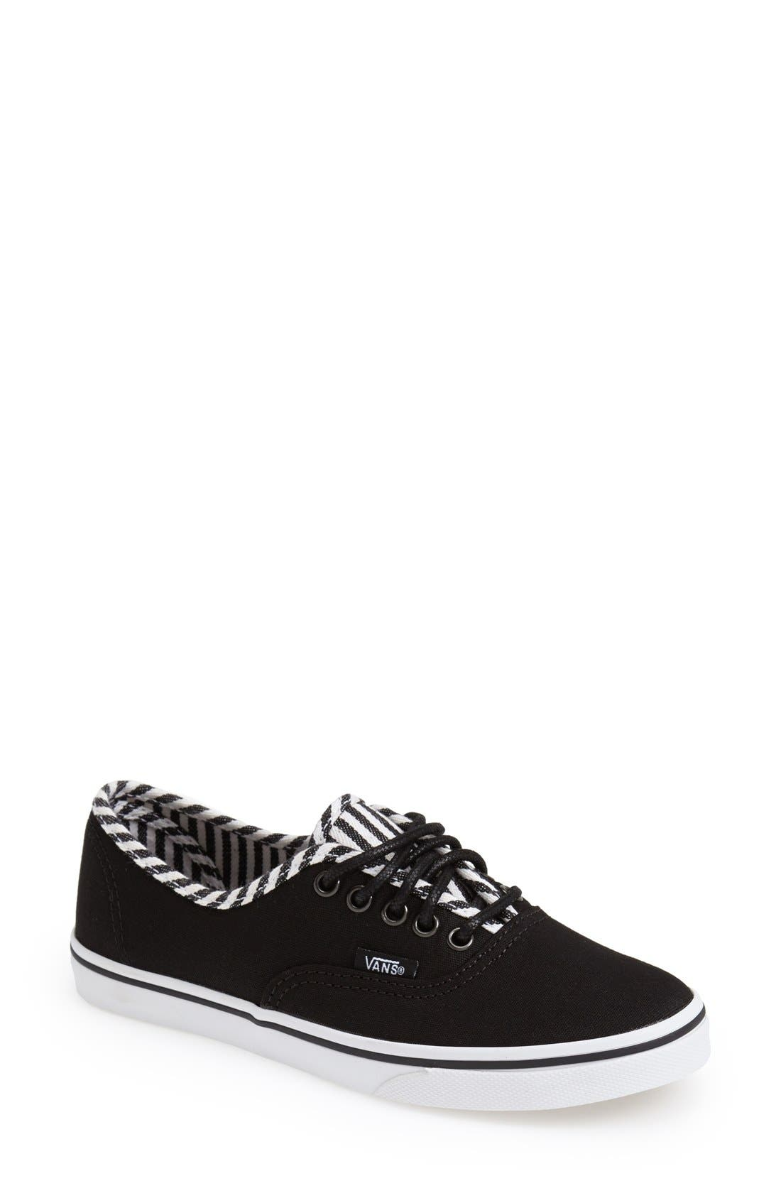 Alternate Image 1 Selected - Vans 'Authentic - Lo Pro Hickory Stripes' Sneaker (Women)
