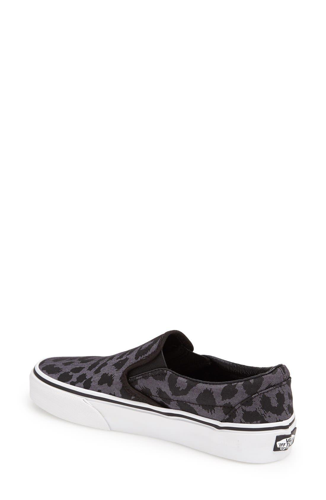 Alternate Image 2  - Vans Leopard Spot Slip-On Sneaker (Women)