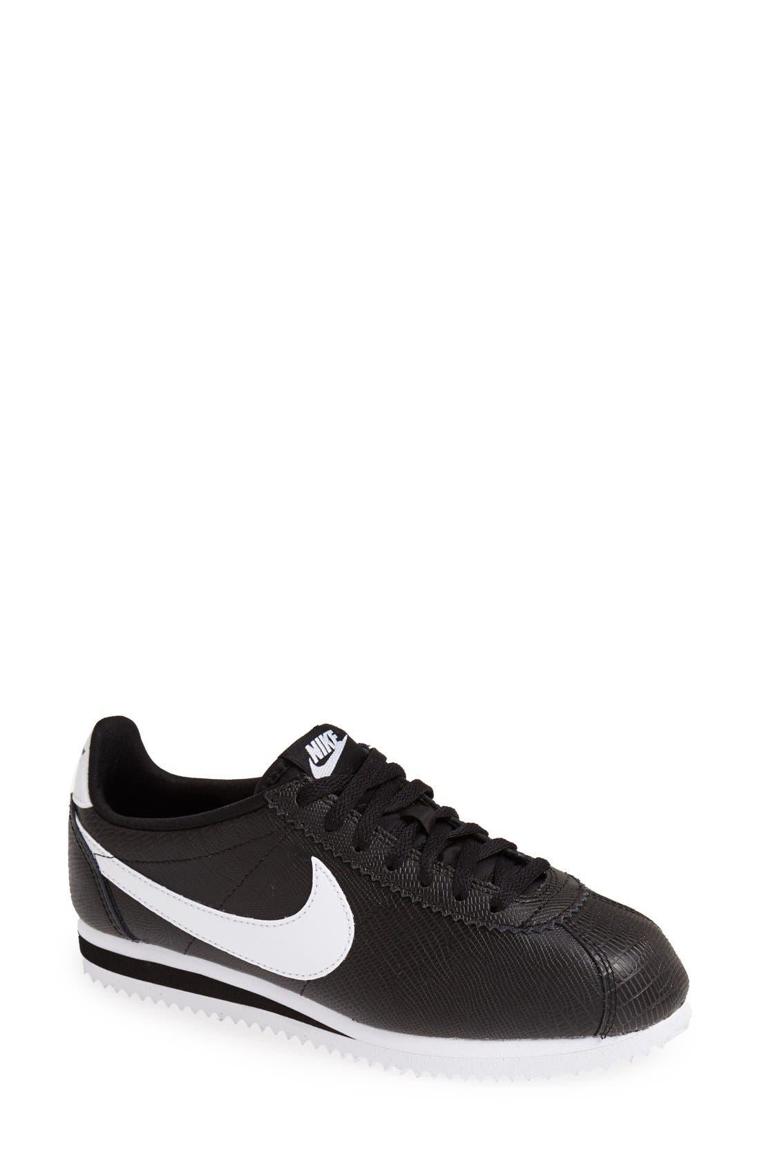 Main Image - Nike 'Classic Cortez' Leather Sneaker (Women)