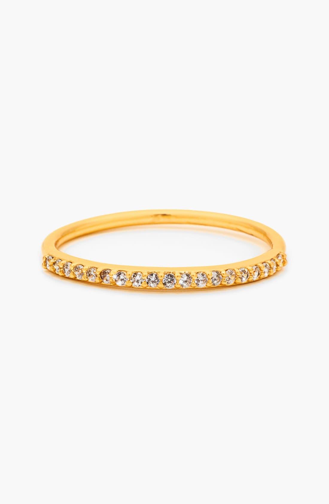 Main Image - gorjana 'Shimmer Bar' Midi Ring