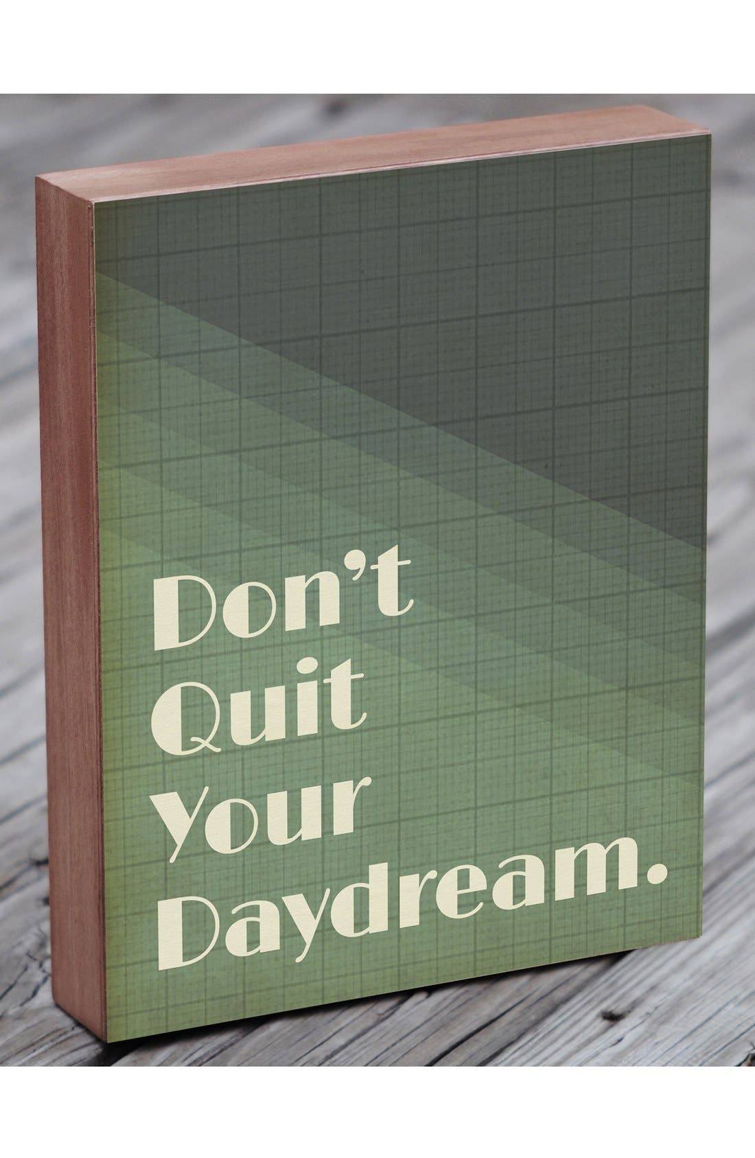 Alternate Image 3  - Lucius Designs 'Don't Quit Your Daydream' Wall Art